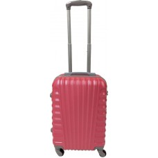 Handbagage koffer 51cm 4 wielen trolley - Roze