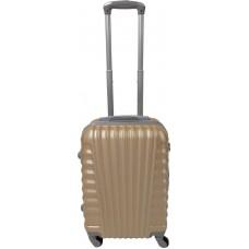 Handbagage koffer 51cm 4 wielen trolley - Champagne