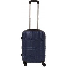 Handbagage koffer 51cm 4 wielen trolley - Blauw