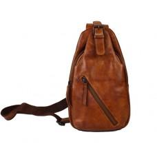 Bear Design Crossbody Rugzak / Bodybag Daley Cognac